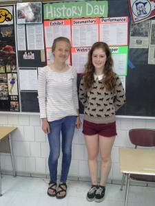 Tessa and Samara NHD (2014) 2